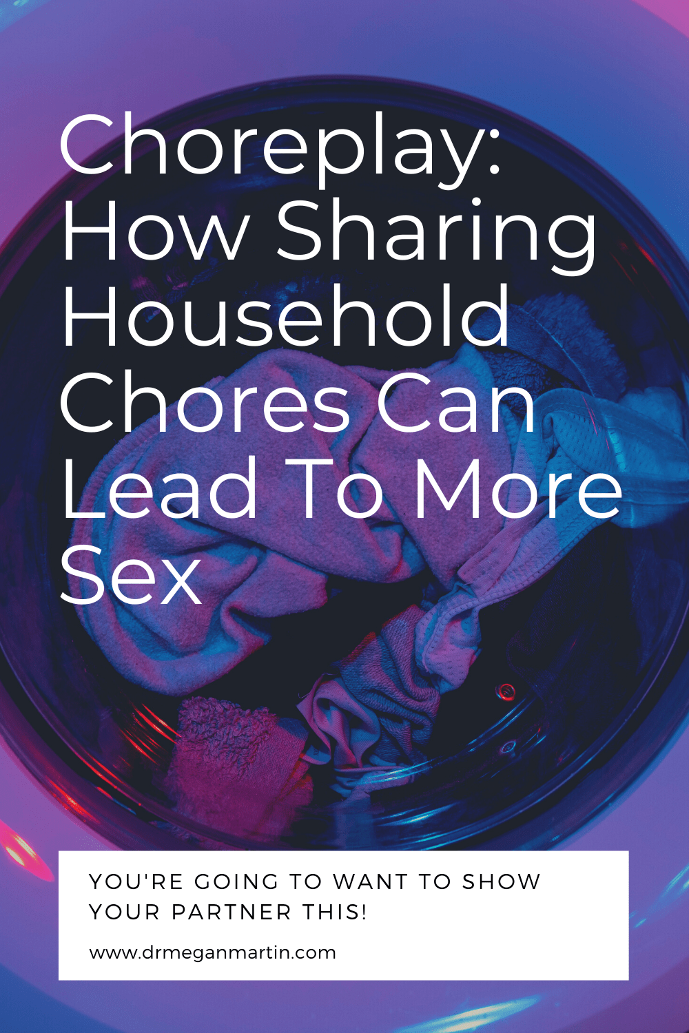 sharing household chores leads to more sex