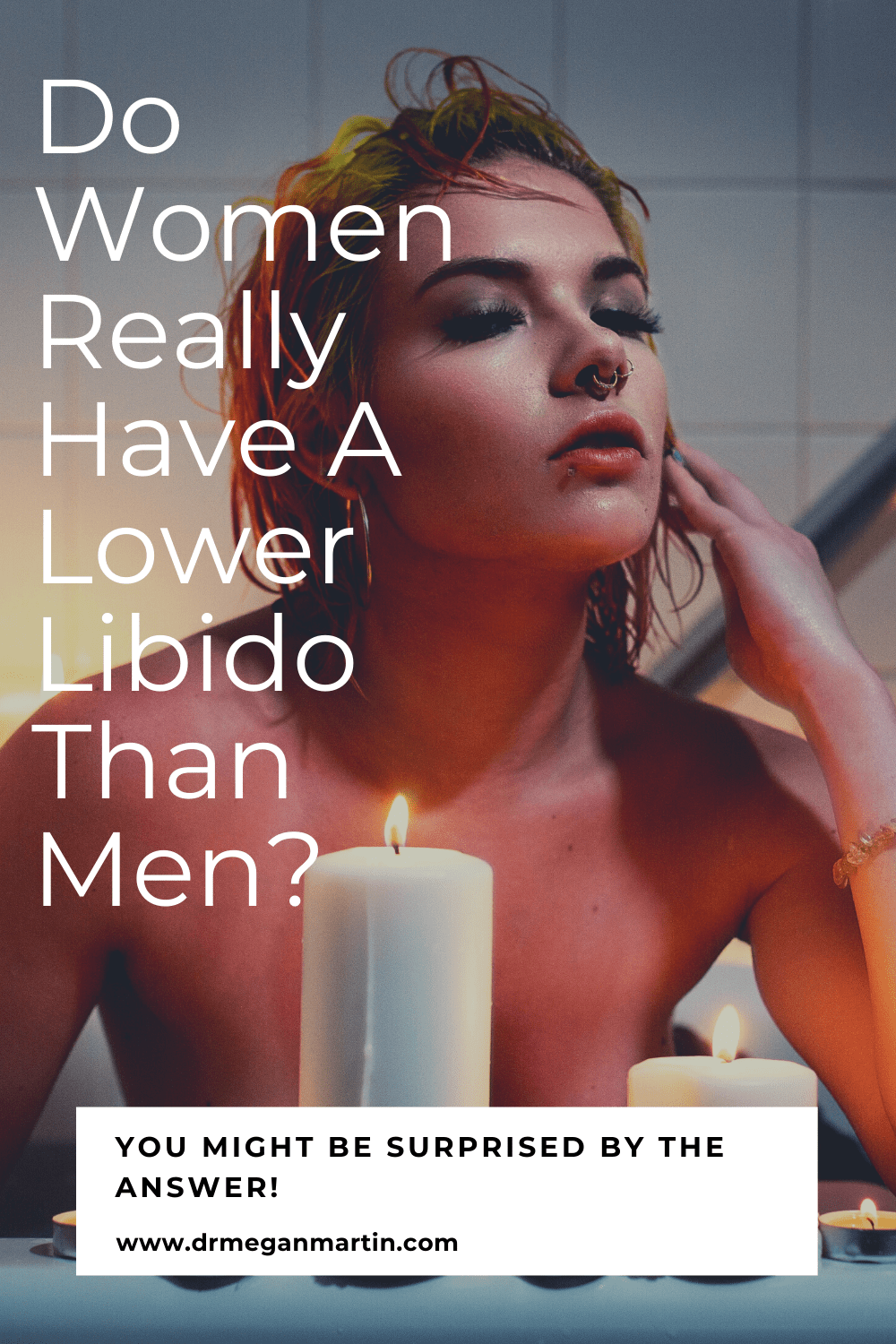 Woman in the bath worried that she has low libido