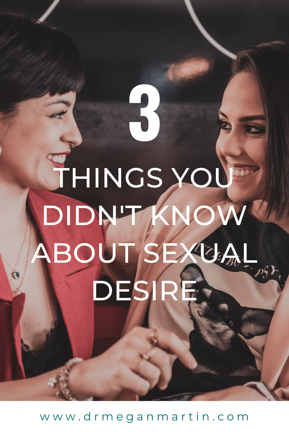 two women talking about how they don't experience sexual desire anymore